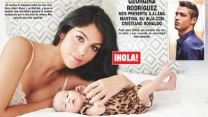 Роналдо и Джорджина показаха за пръв път дъщеря си в списание HOLA!