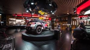 Тръпката на рали Дакар: Peugeot Avenue Paris
