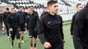 Трима нови футболисти на първата тренировка на Славия за 2018