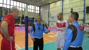 1/4-финал №2 на Купата на България: Нефтохимик (Бургас) - ЦСКА 3:0