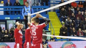 Полуфинал №1 на Купата на България: Хебър - Нефтохимик 0:3