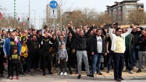 Феновете на Ботев си поискаха стадиона
