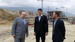 Волейболен клуб Левски започва строеж на новата си зала