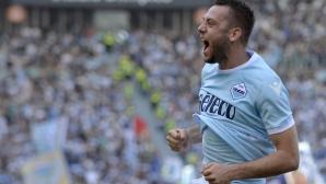 Лацио лети към Шампионската лига след бой над Самп