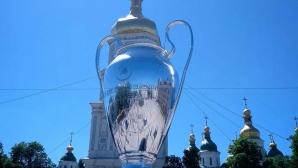 Киев и финалът на Шампионската лига в снимки