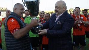"""""""Витоша"""" Бистрица шампион на държавното по футбол за ветерани"""