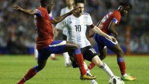 Аржентина разгроми Хаити, Меси с хеттрик