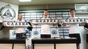 Славия представи новите футболисти, Златомир Загорчич даде пресконференция