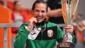Oфициално награждаване на финалистките от Европейското по бокс за жени в София