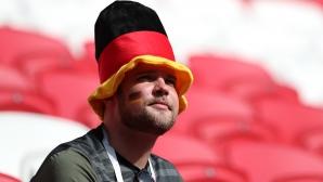 Привържениците на Германия срещу Южна Корея
