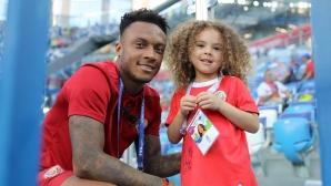 Феновете на Коста Рика срещу Швейцария