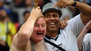Феновете на Англия срещу Колумбия