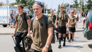 Копенхаген пристига на Терминал 1 за мача си с ЦСКА-София