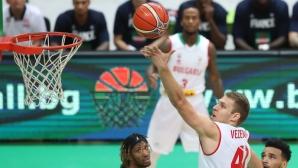 България победи Франция със 74:68