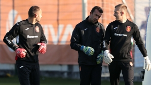 Георги Петков отново тренира с националната фланелка