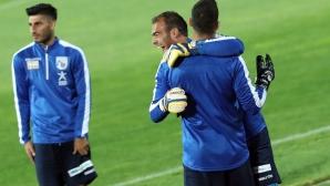 Националите на Кипър с последна тренировка преди мача с България