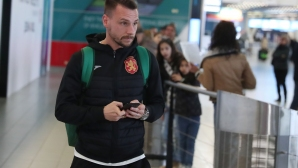Националите по футбол се завърнаха от Кипър