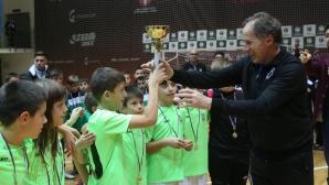 Награждаванe на детски футболен турнир Проф. Д-р Лъчезар Цоцорков