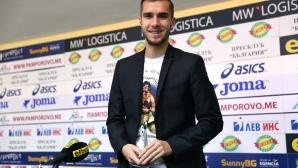 Наградиха Антонио Вутов за играч на 17-ти кръг