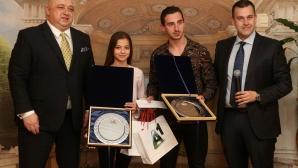 """Мариела Костадинова и Панайот Димитров спечелиха анкетата за """"Най-добър млад спортист до 18 години"""""""
