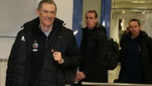 Руските национали пристигнаха в София