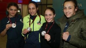 Младите боксьорки се завърнаха от турнира в Рига с медали