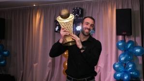 Левски Лукойл отпразнува спечелването на купата на България по баскетбол