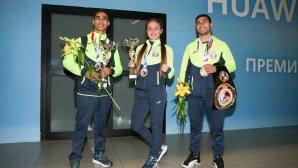 Националният ни отбор по бокс се прибират от Европейско първенство