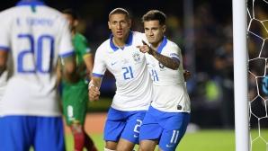 Ударно начало за Бразилия на Копа Америка