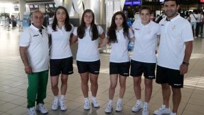 Националният отбор по борба жени замина за Минск