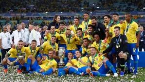 Бразилия спечели Копа Америка!