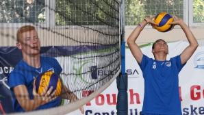 Открита тренировка на волейболен клуб Левски
