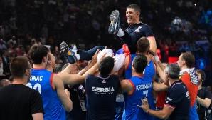 Финал на Евроволей 2019: Сърбия - Словения 3:1