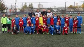 Първо дерби между Левски и ЦСКА при най-малките