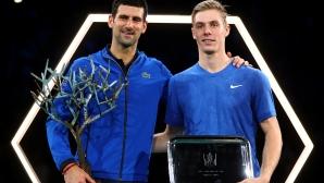 Джокович срази Шаповалов на финала в Париж