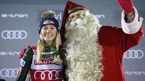 Микаела Шифрин триумфира в Леви с рекорд