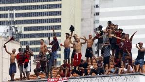 Рио в делириум при посрещането на героите от Фламенго