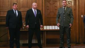 Повишаване в чин на Кубрат Пулев