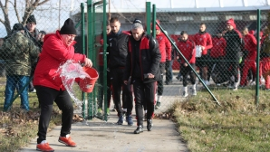 Първа тренировка на Локомотив (София)