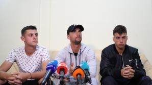 Националният отбор по тенис се прибра от Австралия