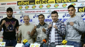 "Пресконференция за боксов турнир ""Странджата"""
