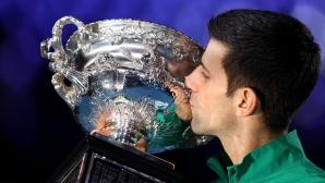Джокович прекърши Тийм в пет сета и отново триумфира в Мелбърн