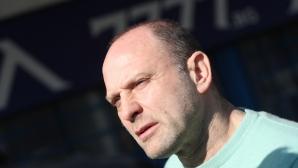 """Тити Папазов посети офисите на """"Герена"""", но сподели, че не знае каква е събраната сума от феновете на Левски"""