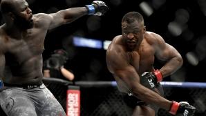 Франсис Нгану с пореден брутален нокаут за броени секунди на UFC 249
