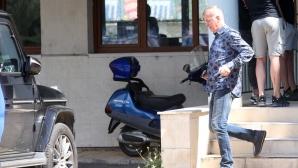 Наско Сираков напусна безмълвен Герена