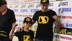 Представяне на новата боксова зала на Детелин Далаклиев в Плевен