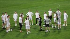 Официална тренировка на Торшавн преди мача с ЦСКА-София