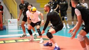 Силни Матей Казийски и Аспарух Аспарухов, Верона с трета загуба в Италия