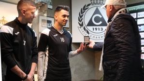 Славия представи трима нови състезатели