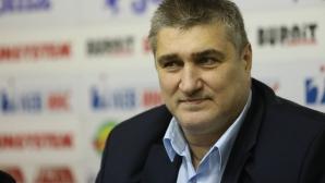 Любо Гaнев с равносметка за десетте месеца начело на федерацията по волейбол